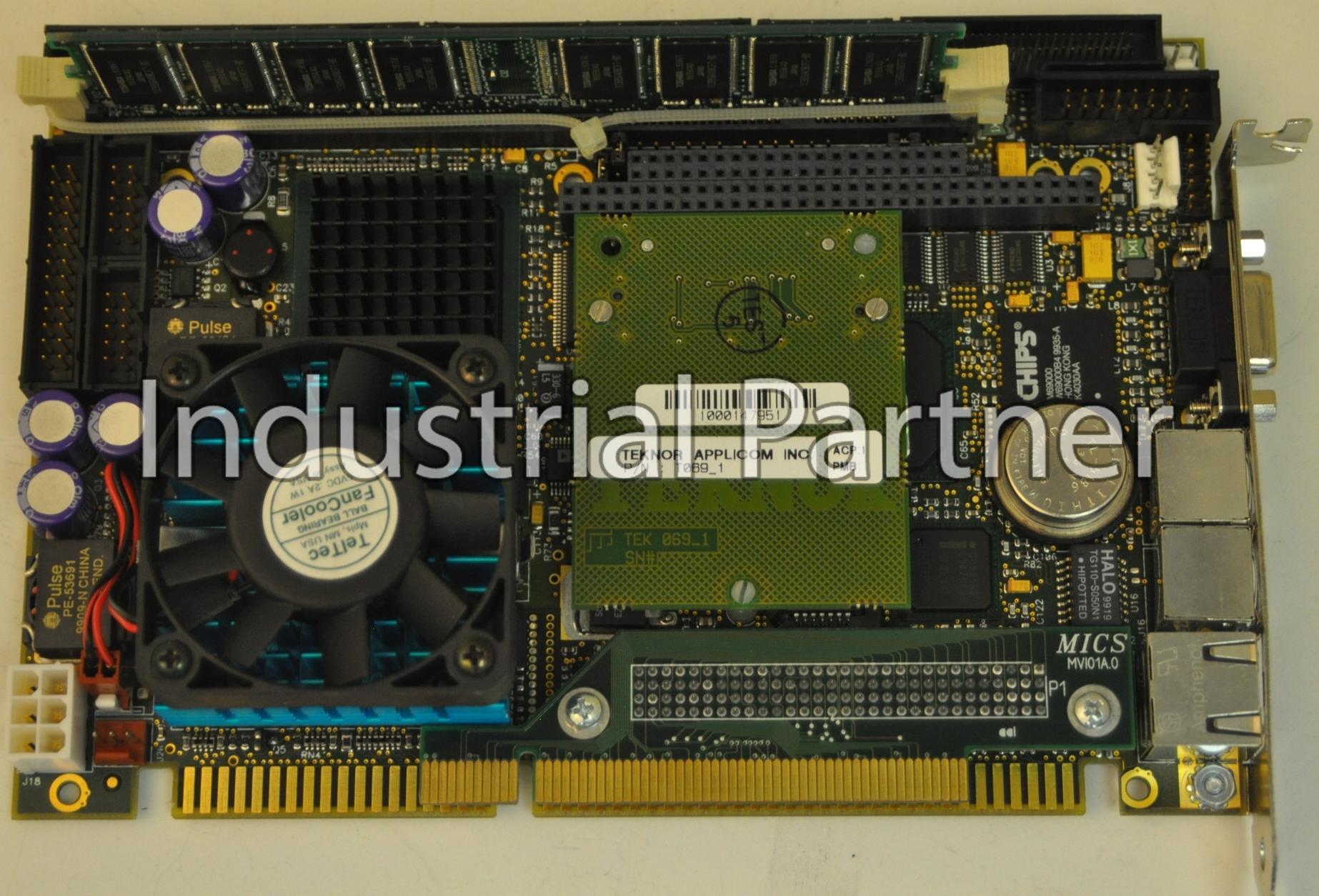 Kontron T830E//300 Pentium III ISA Half-Size Single Board Computer w//Memory NEW