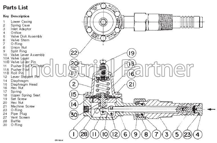 1305 - Fisher Controls 1305 Series Regulators